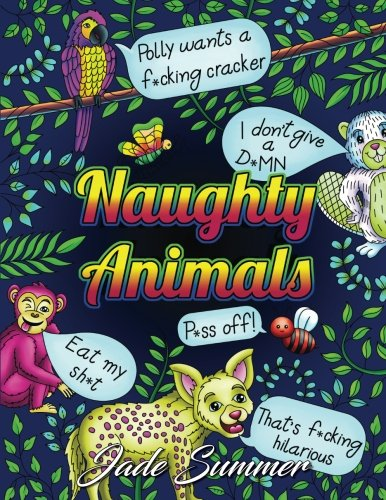 Naughty Animals Coloring Adorable Horrible product image