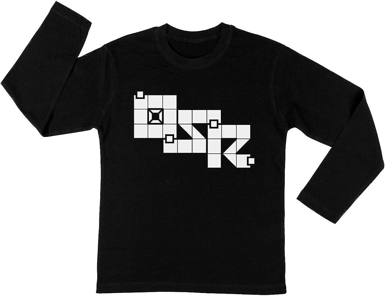 Antiguo Colegio Juego De rol Unisexo Niño Niña Camiseta Manga Larga Negro Todos Los Tamaños - Unisex Kids Boys Girls Long Sleeve T-Shirt Black: Amazon.es: Ropa y accesorios