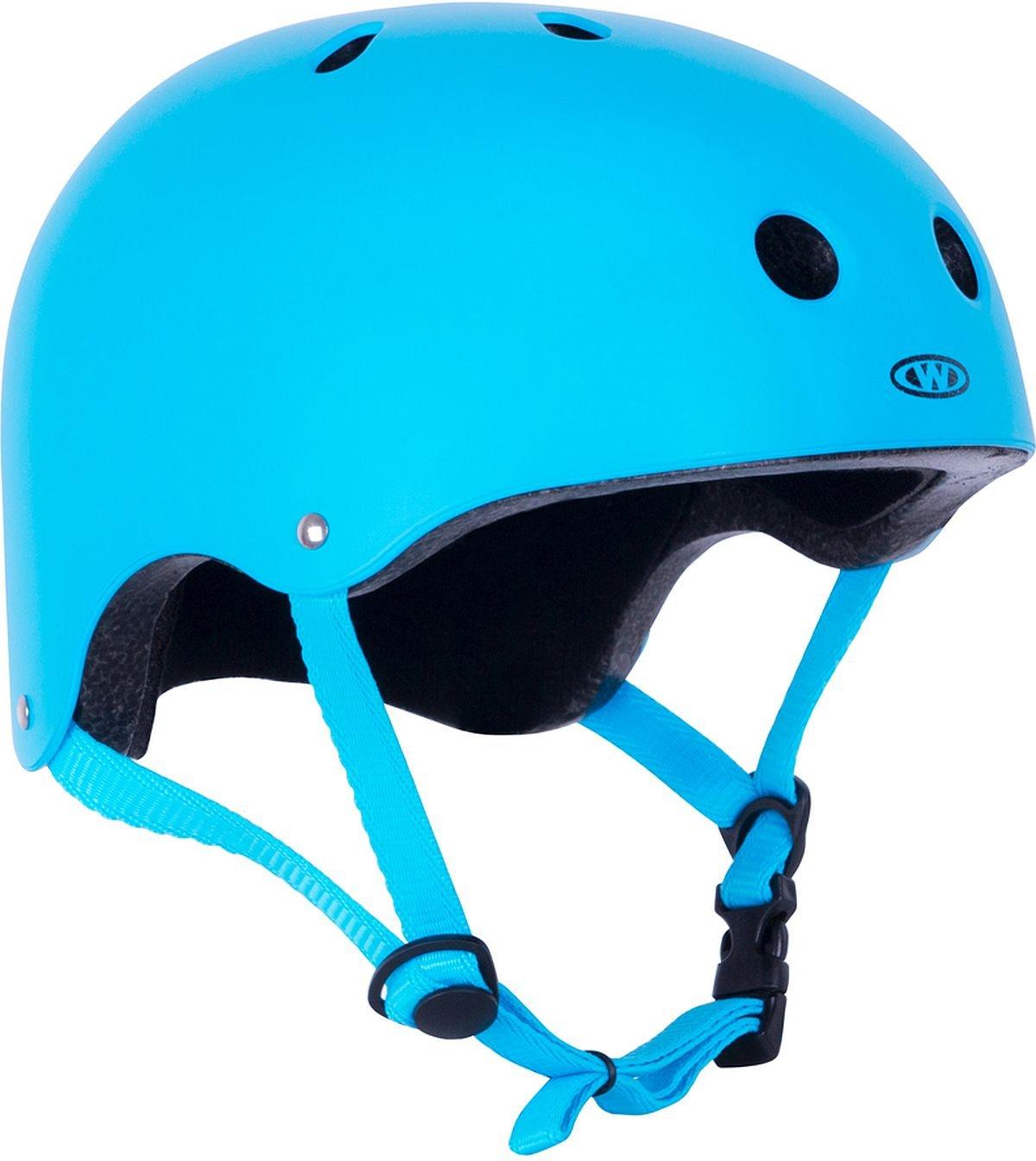 Skaterhelm Neonik blau Gr. 49-53, 53-56, 56-59, 59-62 cm verstellbar Insportline