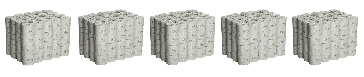 Georgia Pacific Professional 1988001 Bathroom Tissue, 550 Sheets Per Roll (Case of 80 rolls) (5 PACK Case OF 80)