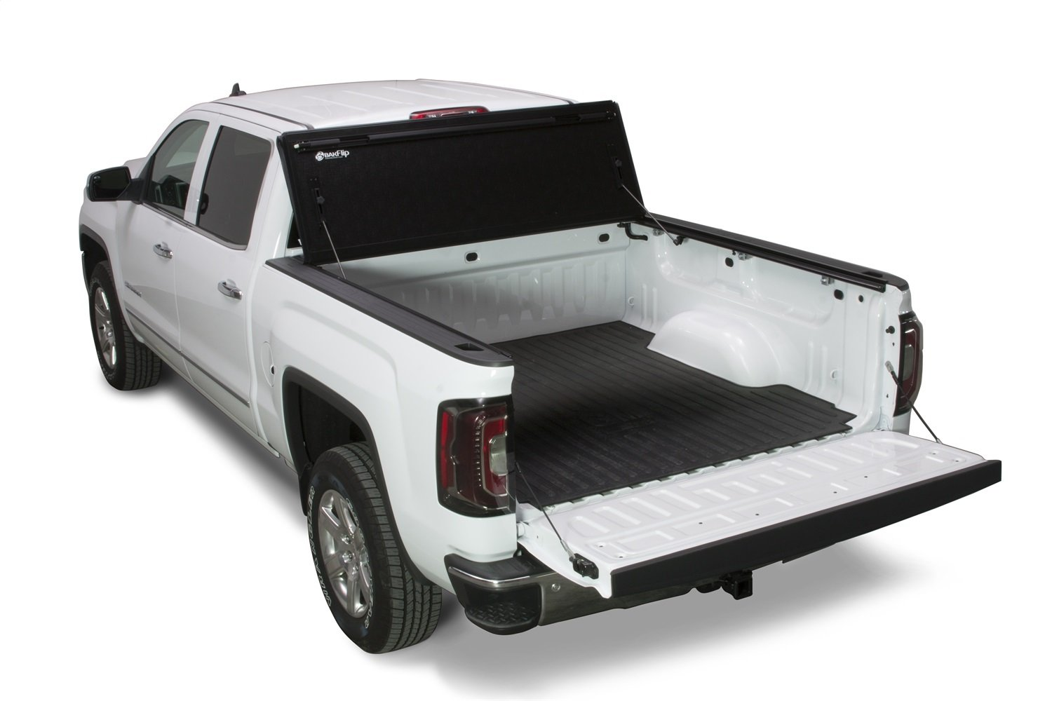 BAK Industries BAKFlip G2 Hard Folding Truck Bed Cover 226120 2014-18 GM Silverado, Sierra 5' 8""