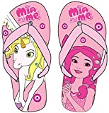 Mia and Me Official Licensed Girls Slippers (US 12.5/13 (EU 30/31), Pink)