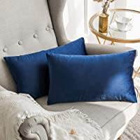 MIULEE Pack of 2 Decorative Luxury Series Merino Style Throw Pillow Case Cushion Cover Sofa Bedroom Car