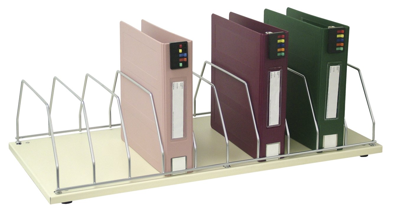 Omnimed  264003-10 Table Top Chart Rack Holder, 10 Slot
