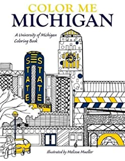 Amazon.com: The Marvelous Michigan Coloring Book! (Michigan ...