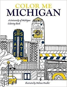 Amazon.com: Color Me Michigan: A University of Michigan Coloring ...
