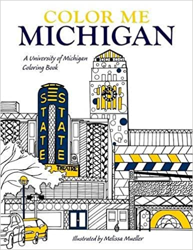 Amazon.com: Color Me Michigan: A University of Michigan Coloring ...