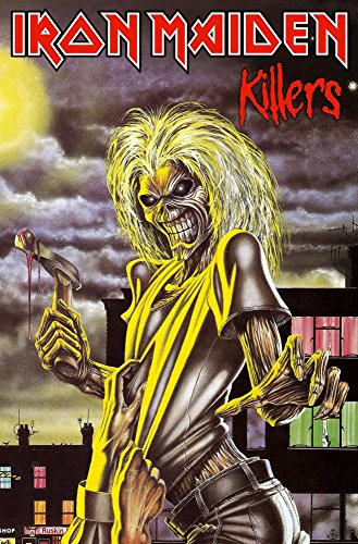 Iron Maiden Banners - Iron Maiden killers Deluxe Textile Poster