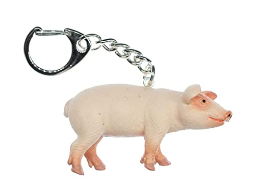 Miniblings Pig llaveros Llavero Cerdo cochinillo Animal ...