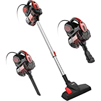 Corded Vacuum Cleaner, INSE I5 Stick Vacuum Cleaner 18KPA Powerful Suction with 600W Motor, 3 in 1 Handheld Vacuum for…