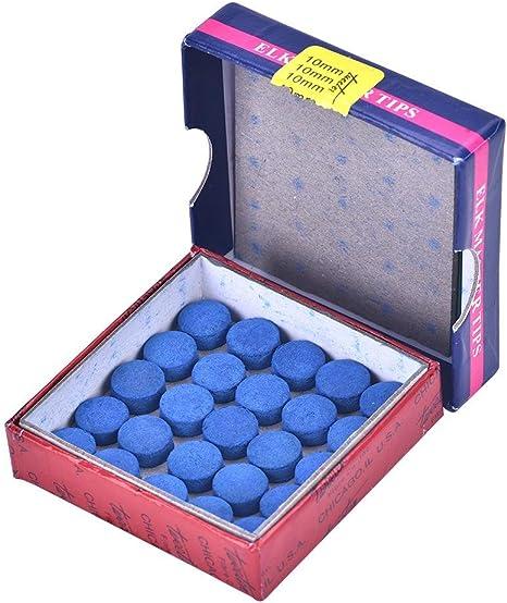 Puntas de Taco de Billar 50pcs 10mm Punteras de Reemplazo de ...