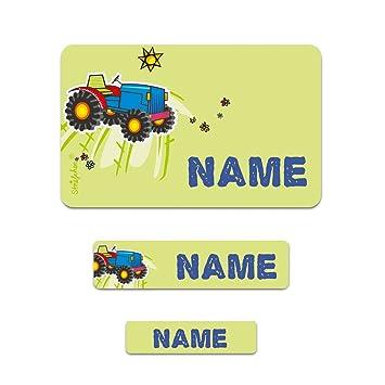 Striefchen/® 177 Schuletiketten f/ür Schulkinder Motiv Dinosaurier mit Wunschname Ideal zur Einschulung oder Schulanfang