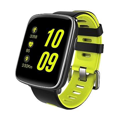 YSCYLY Fitness Tracker Relojes Inteligentes Monitor de Ritmo cardíaco Podómetro Bluetooth IP68 Multifunción a Prueba de