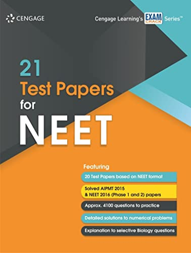 21 Test Papers for NEET