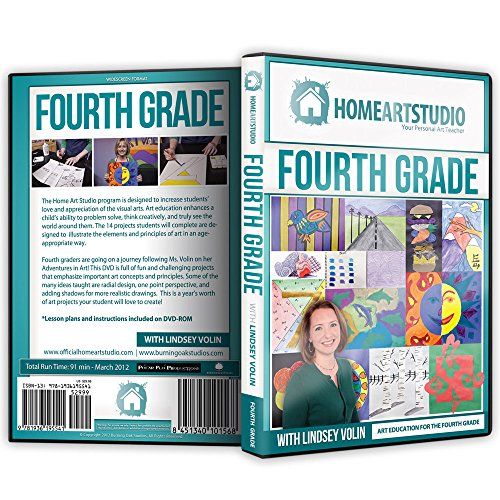 Home School Art Studio Program DVD with Lindsey Volin 4th