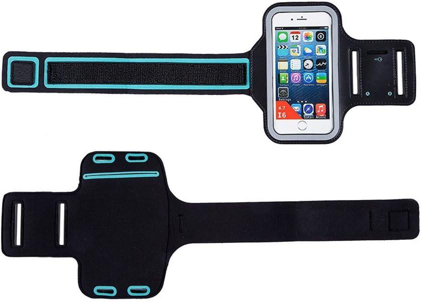 Aikesi Sport Armband H/ülle Case Sport Armband Handyh/ülle Cover Schutzh/ülle Kompatibel mit Phone Size Einstellbare Gr/ö/ße f/ür alle