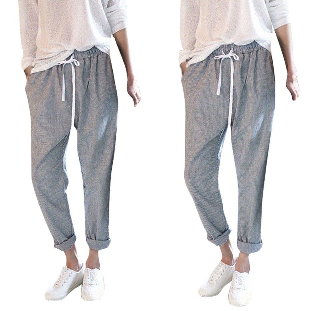 Amazon.com: Venta de limpieza. Pantalón de mujer Farjing, a ...