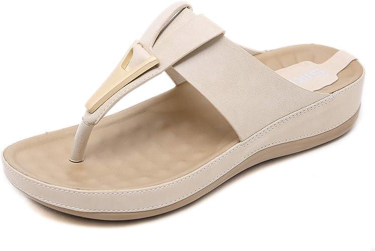 ZAPZEAL Ladies Platform Wedge Sandals