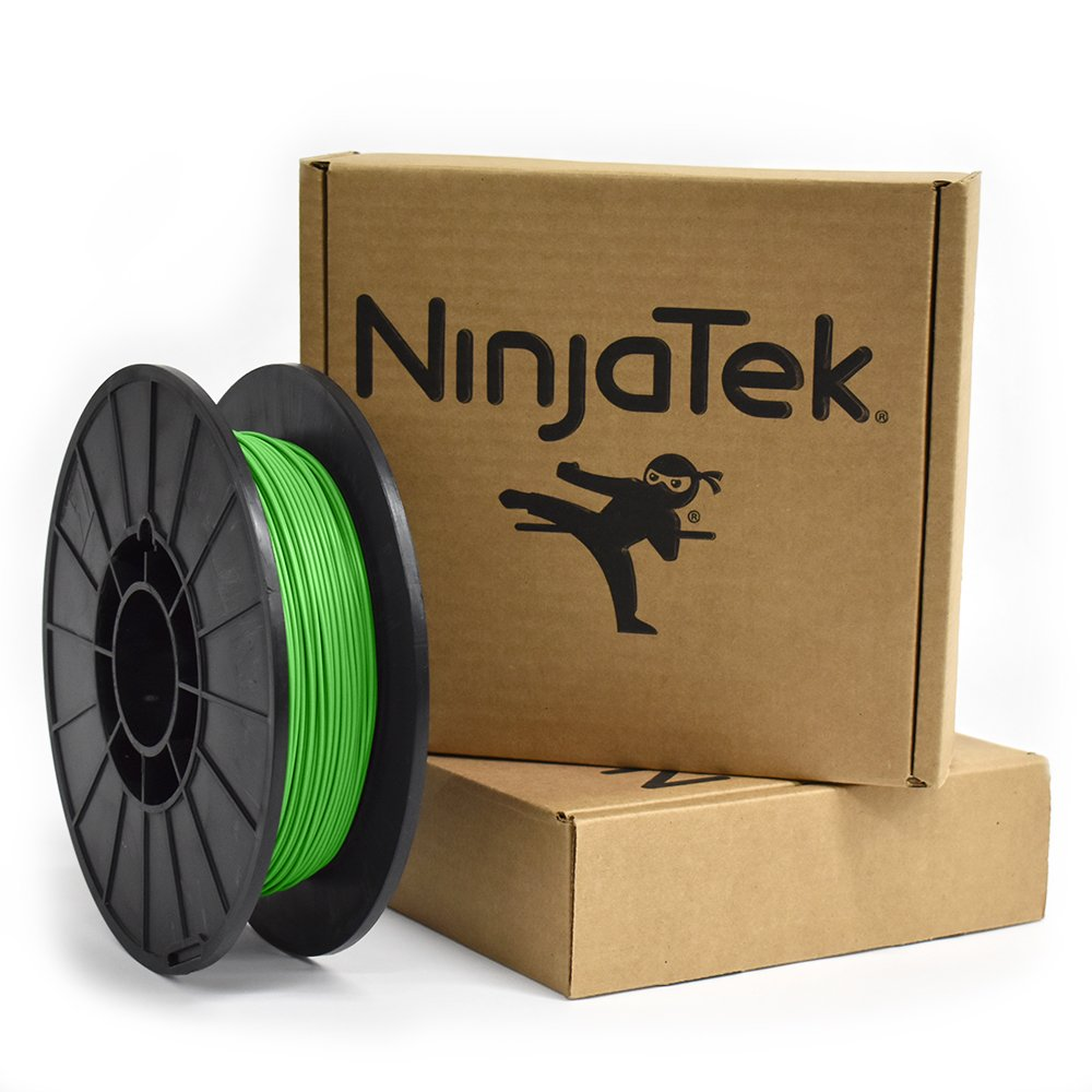 Green 1.75mm Ninjaflex NinjaTek 3DCH06117505 NinjaTek Cheetah TPU Filament TPE.5kg Pack of 1 Grass