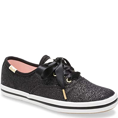 9e1094f683d5 Keds Kids Baby Girl's for Kate Spade Champion Glitter (Toddler) Black 5 M US