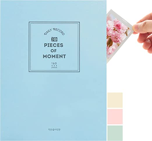 B FANCY Small Polaroid Photo Album 160 Pockets Photo Picture Book for Kids, Baby, Family, K-POP Photocard
