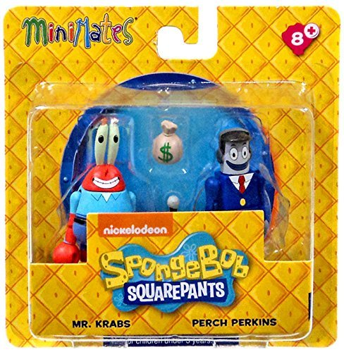 Spongebob Squarepants Minimates Mr. Krabs & Perch Perkins 2