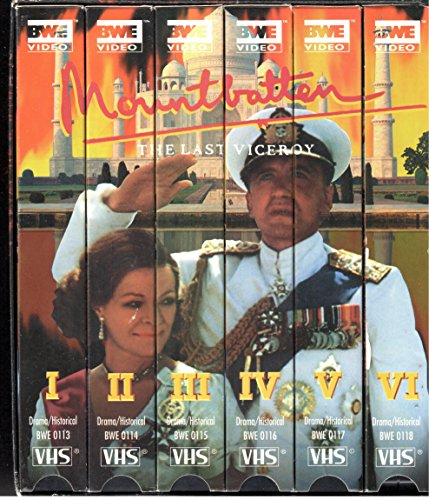 Mountbatten:the Last Viceroy / 6 Vols - Box Viceroy