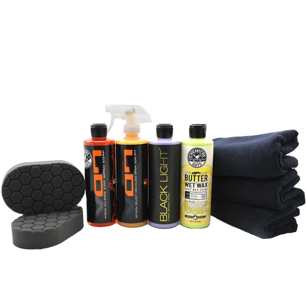 Chemical Guys Black Car Kit}