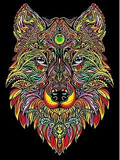 Colorvelvet Dibujo Lobo 47 X 35 L94 Amazones Juguetes Y Juegos