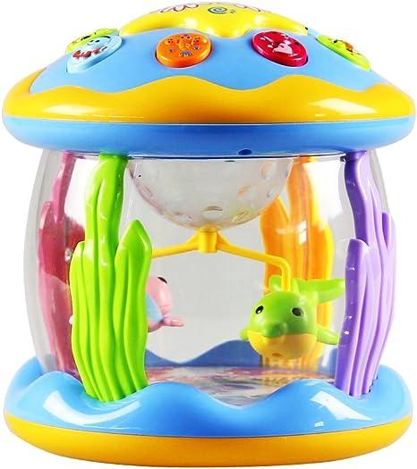 Baby Toys Ocean Park - Proyector giratorio, Hinmay para diferentes ...