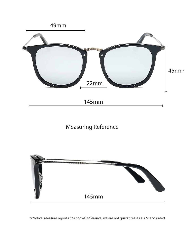 Amazon.com: baviron similar Madera anteojos de sol ...