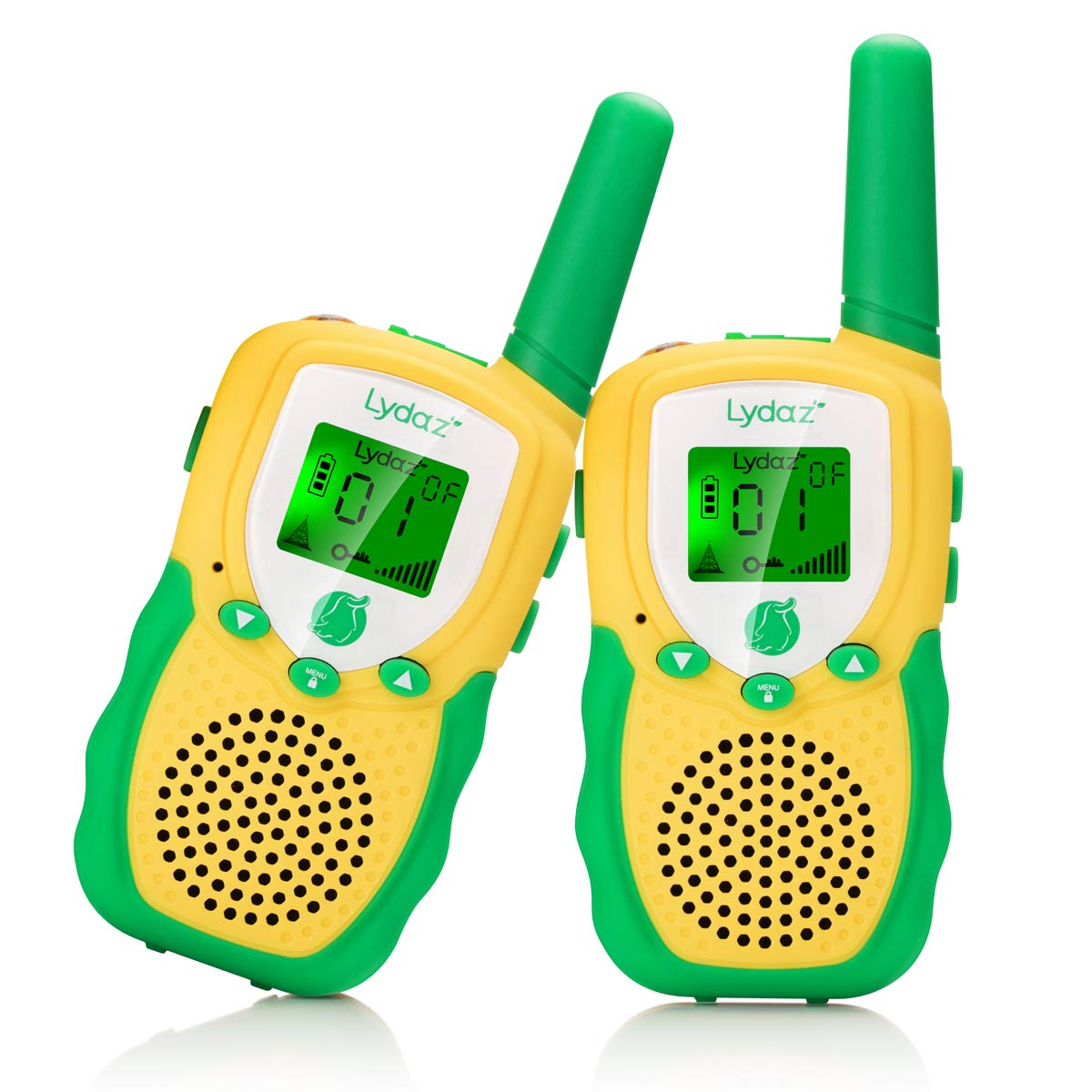 Walkie Talkies for Kids, 22 Channels 2 Way Radios 3 Miles Range Long Distance with 2 Inch Backlit LCD Flashlight - Best Gifts Toys for Kids Boys Girls Age 3 4 5 6 7 8 9 10 Outdoor Adventures Camping