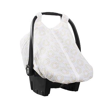 Bebe Au Lait Premium Muslin Car Seat Cover Halo