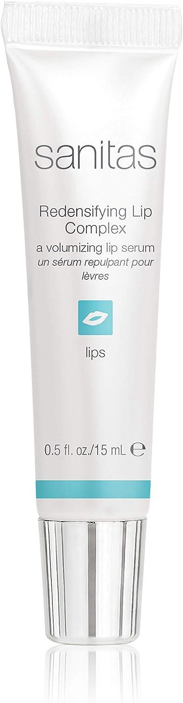 Sanitas Skincare Redensifying Lip Complex, a Volumizing Lip Serum 0.5 Ounce