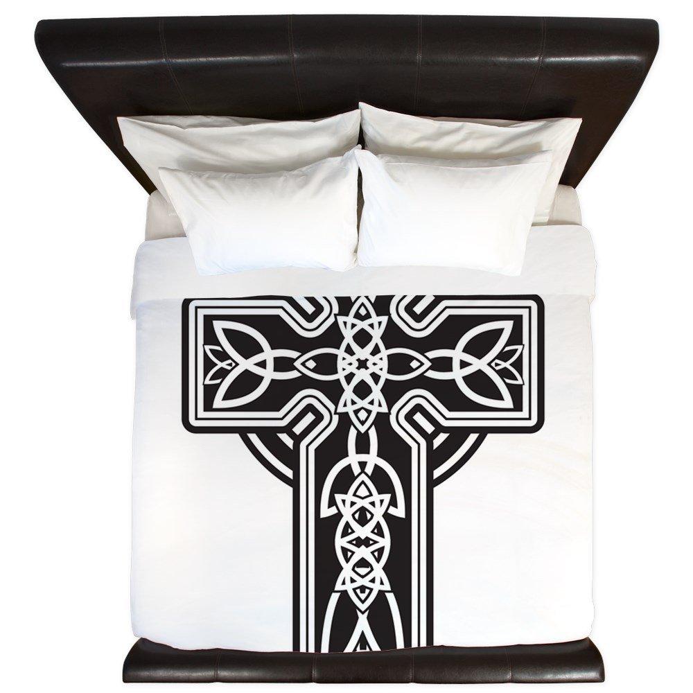 King Duvet Cover Celtic Cross by Royal Lion