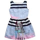 a282168cbbc8 Kobay Baby Princess Dress Summer Toddler Baby Girls Denim Dress ...