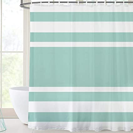 Image Unavailable Not Available For Color Stripe Bathroom Shower Curtain