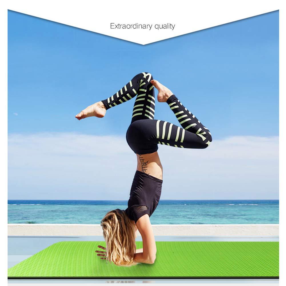 WYQWAN Estera De Yoga - TPE, Ligera, Antideslizante ...