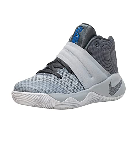Nike Kyrie 2 (PS), Zapatillas para Niños, Gris (WLF Grey/Drk OMG Bl-Cl Gry), 31 EU: Amazon.es: Zapatos y complementos