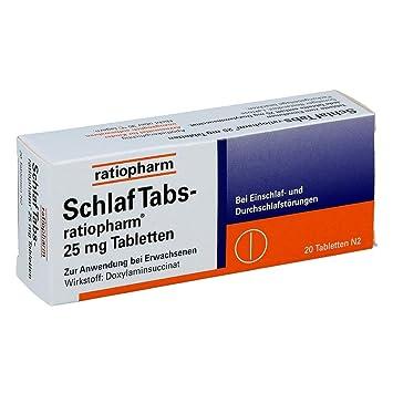 Ratiopharm - comprimidos para dormir, 20 unidades: Amazon.es ...