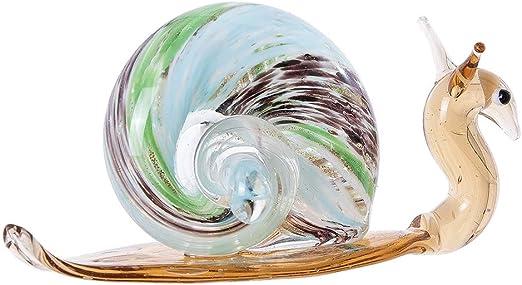 MINI Schildkröte aus Glas handgefertigte Glasfigur Schönes Geschenk 2,5 cm hoch