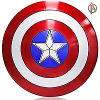 Towel Rings Escudo del Capitán América, Escudo De ABS Plástico de 57 cm, Serie Avengers Legends, Réplica De Marvel Prop…