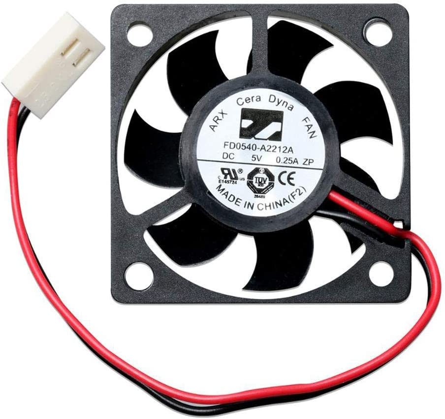 for DaHua DVR NVR VCR Motherboard BGA CPU Cooler Fan 5V,Box Fan 5V, Power Fan 12V Cooling Fan (Side Fan (FD0540-A2212A))