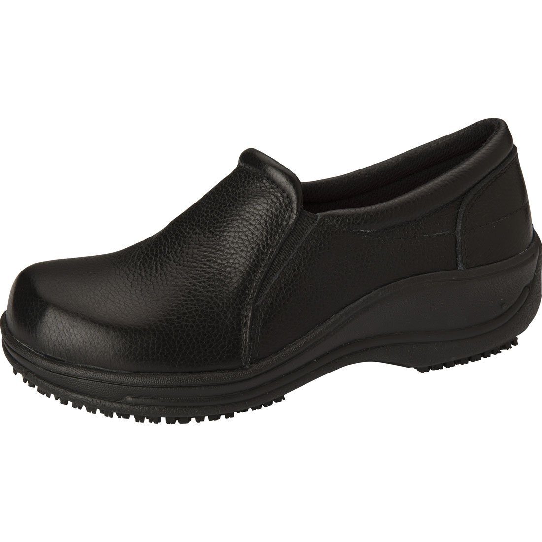 Anywear ''SAVVY' Leather Slip On' Black 7H by Anywear