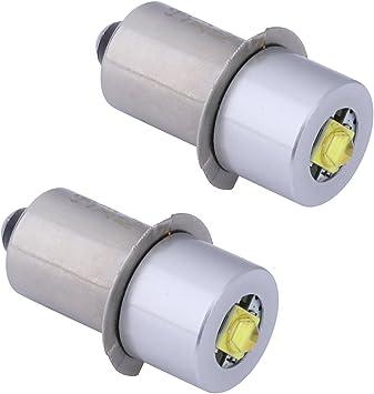 18v 6v 24v 19 2v 12v 9v Led Conversion Kit Upgrade Replacement Bulbs For Flashlight Ryobi Milwaukee Craftsman Lamp Dc 2pack Amazon Com