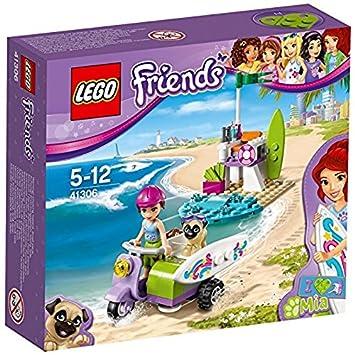 Lego 41306 Mias Beach Scooter Building Toy Lego Amazoncouk