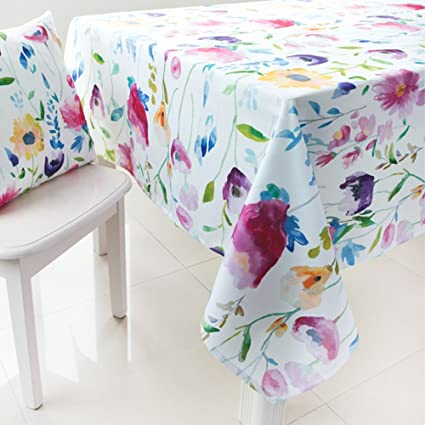 amazon com colorbird modern style washable tablecloth colorful