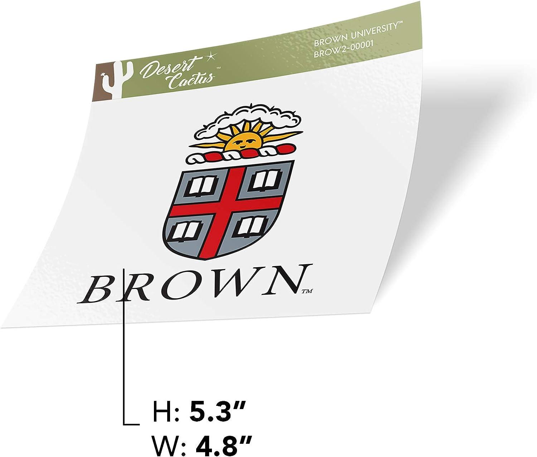 Full Sheet Brown University Bears NCAA Sticker Vinyl Decal Laptop Water Bottle Car Scrapbook