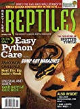 Reptiles November 2009 The World's Leading Reptile Magazine ON THE BALL: EASY PYTHON CARE Anaconda Challenge: Meet This Big Snake's Needs THE EVER-POPULAR: SPOTTED TURTLE