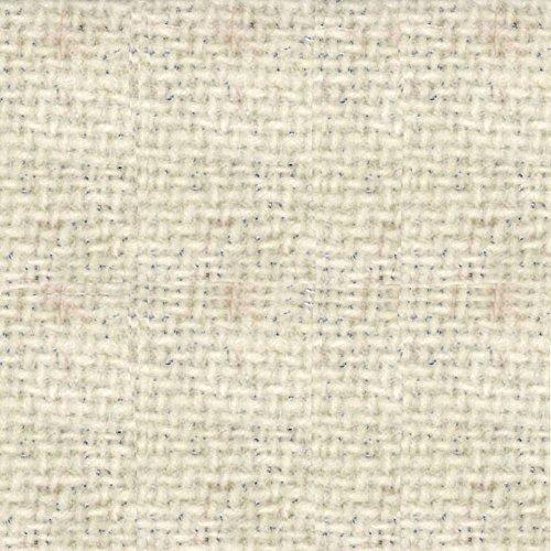 Primitive Gatherings Hand Dyed Wool Ecru Solid 15 inch x 25 inch Cut Piece Moda Fabrics PRI 5008 (Hand Wool Fabric Dyed)